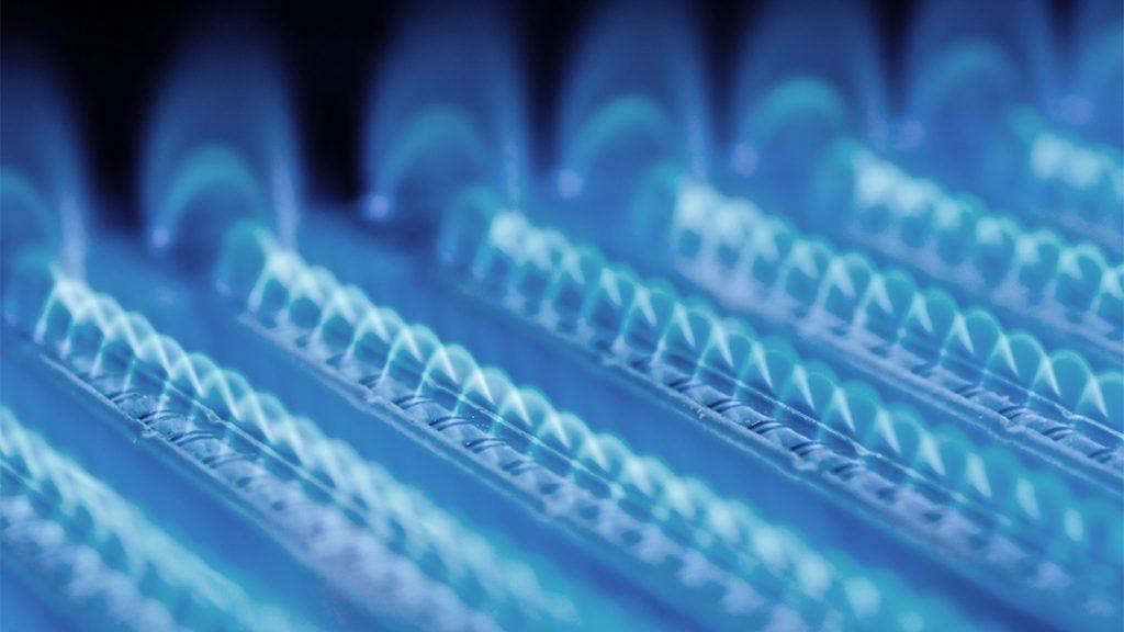 Fossile Energietraeger in Form von Gas